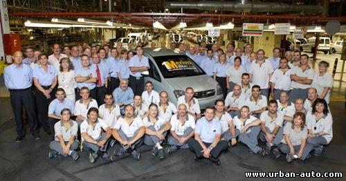 Миллионный Opel Meriva покидает сборочный конвейер
